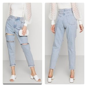 TOPSHOP 30L MOM JEANS-Relaxed fit
